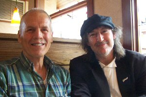 8.  Paul with his web master, Darwin Hall